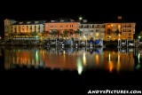 Harbor Island at Night