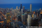 Chicago at Night as seen from the Sears Tower