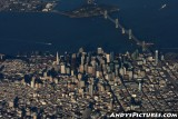 Aerial of San Francisco, California
