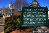 New Hampshire State Capital - Concord