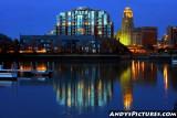 Evening in Buffalo, New York