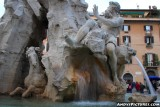 Bernini's Four Rivers Fountain - Piazza Navona