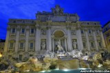Trevi Fountain at Night - Rome, Italy