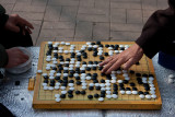 A game of Baduk in the park