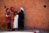 Ladies at the City Wall, Marrakesh