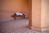 Sleeping in the El Badi Palace