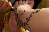 Working with henna