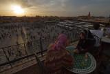 What a view at Jamaa el Fna