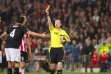 Red card Adil Rami
