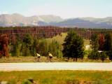Colorado Rockies...Beautiful backdrop for a bike ride...Beautiful scenery for a train ride!