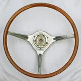 Porsche Carrera 2 Teak Steering Wheel