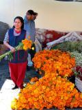 cempazuchiles (marigolds)