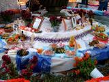 dia de los muertos - fountain, alter (3)