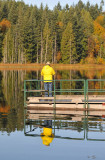 Fisherman Reflected
