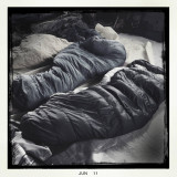 Black and White Sleeping Bags