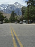 Lone Pine Peak from Town
