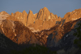 Dawn over Mt. Whitney