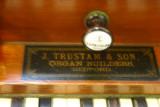 Trustam Harmonium 1864 - Makers Label