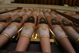 Trustam Organ 1889 - Decorated Pipes