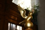 St Mary's Dove on Font Cover