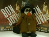 Fui ver os Bon Jovi