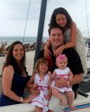 The Humble family at Panama City Beach