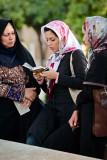 Women reading Hafez - Shiraz