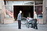 Bicycle repair - Esfahan