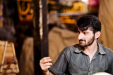 Man in bazaar - Esfahan