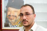 Fateh activist with Yasser Arafat - Abu Dis