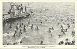 Swimming at Camp Mitina - Halfmoon Lake