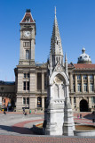 Chamberlain monument and Big Brum clock tower