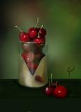 Cherries in Glass