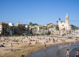 Sitges - beach town south of Barcelona