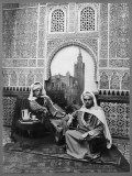 Charles Butler and Daniel Lewis Houck in Sevilla Spain, 1920