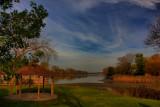 Mohawk River in HDRNovember 3, 2011