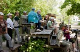 Birders at Boy Scout Woods