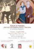 locandina Mostra Album di Famiglia a Mantova