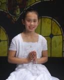 Alesia's First Communion