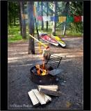 Camping-Two-Jack-Lake-BC, Kayaks-firepit.jpg