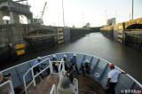 Entering Miraflores Locks,  Panama Canal  2