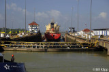 Exiting Gatun Locks, Panama Canal 2