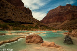 Fish trap in Little Colorado River at Grand Canyon  3