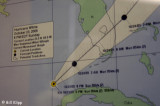 Storm Path Posting at National Weather Service Office Key West