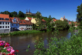 By the river Regnitz
