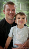 Jean-Simon à Claude et son fils Damien