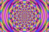 Wavy Magnetic Tiles Curves Umbrella