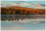 Autumn Morning - Haycock Mountain