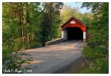 Summer Morning Along Frankenfield Covered Bridge