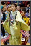 Aleeya's Fancy Shawl Dance, Pow Wow 2012
